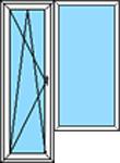 Balkonu PVC bloks