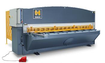 Гильотина для рубки металла Haco ts 3012
