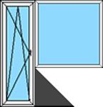 Balkonu PVC bloks: