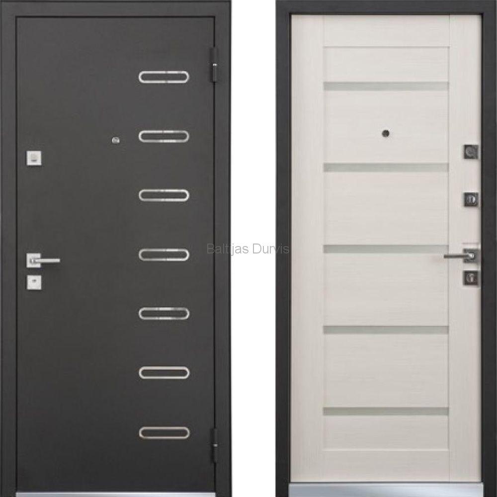 Metāla durvis ar MDF MASTINO TERRA