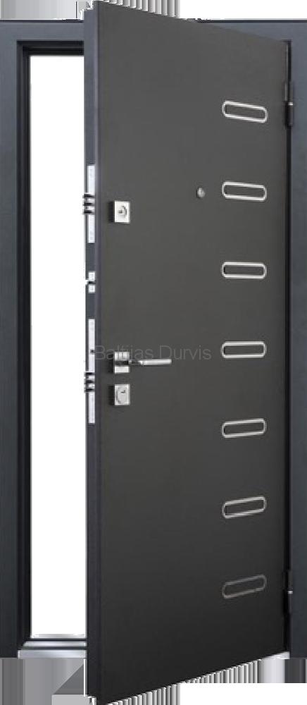 Metāla durvis ar MDF MASTINO PONTE