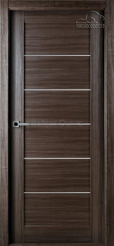 Межкомнатная дверь «Мирелла DG» Серый дуб