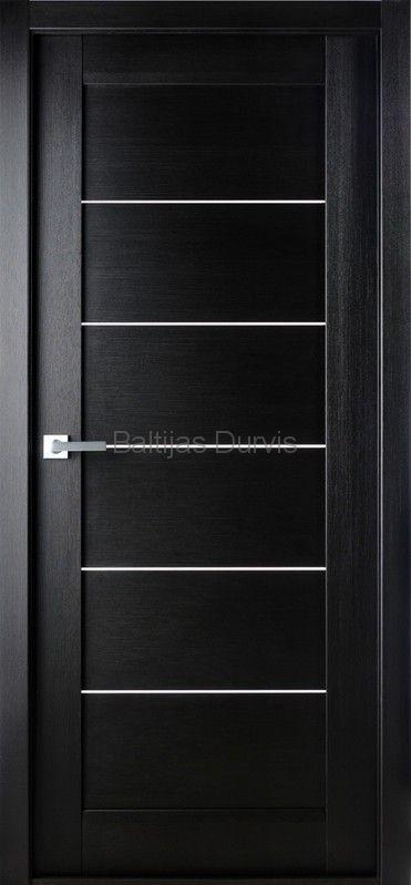 Межкомнатная дверь «Мирелла DG» Неро нобиле