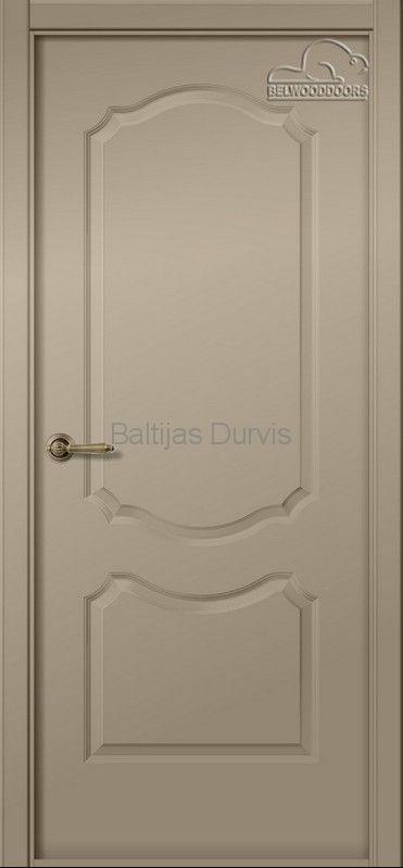 Межкомнатная дверь «Перфекта DG» эмаль Карамель