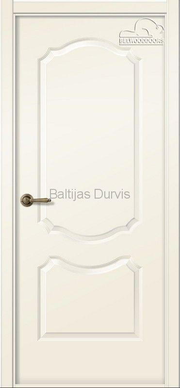 Межкомнатная дверь «Перфекта DG» эмаль Жемчуг