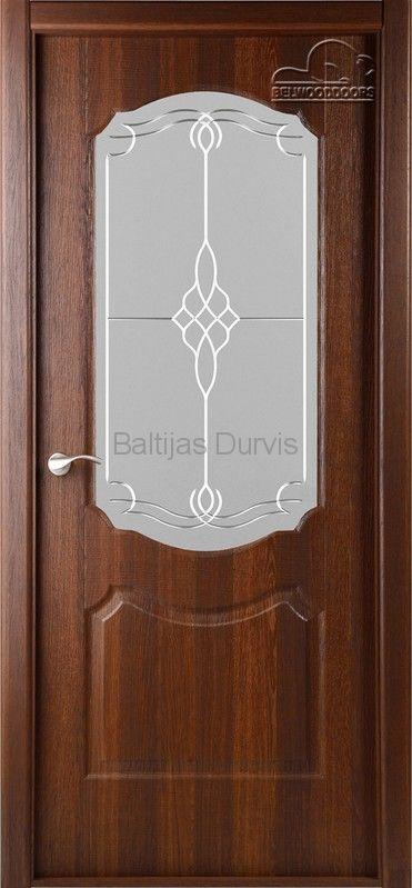 Межкомнатная дверь «Перфекта DO» Каштан золотистый