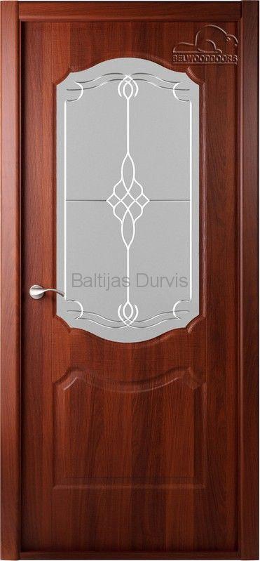 Межкомнатная дверь «Перфекта DG» Орех итальянский