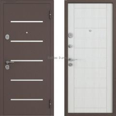 Metāla durvis ar MDF BULDOORS LASER-24