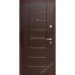 Металлическая дверь с МДФ