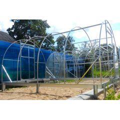 Siltumnīcas pamatu konstrukcija