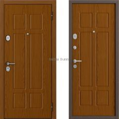 Metāla durvis ar MDF BULDOORS B-35 chrome