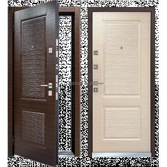 Metāla durvis ar MDF MASTINO LINE-2 Venge tumšais - gaišais